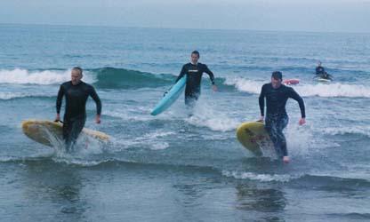 Rescue Board Race Finish