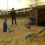 John on Integrate Paddling's Ergo rower